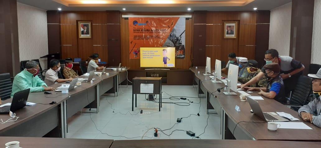 Ujian Negara Amatir Radio Reguler Balmon Kelas II Mataram