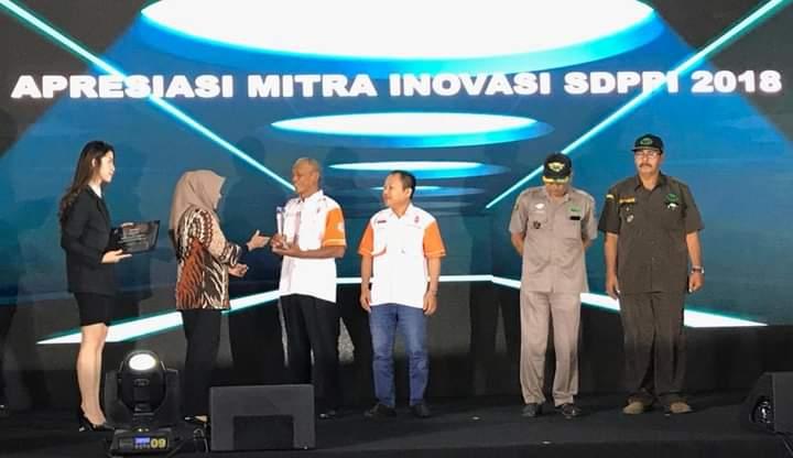 ORDA NTB Mendapat Award Kemanusiaan dan Kebencanaan Dari Pemerintah