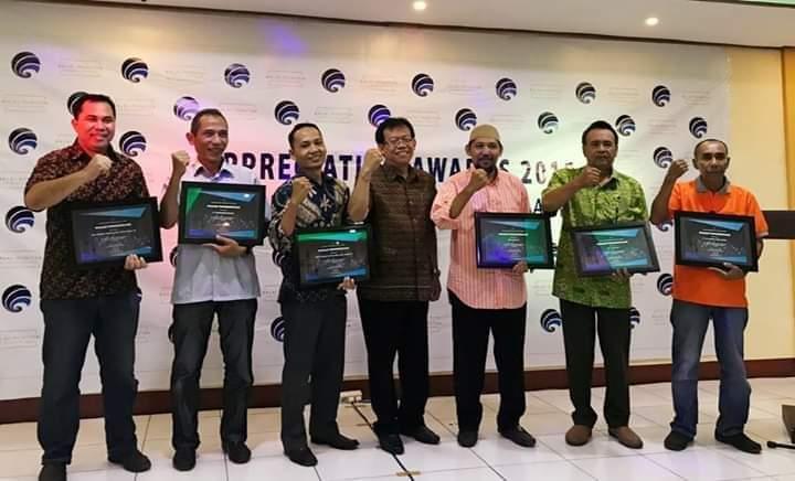 Awards Kebencanaan Dari Balmon kelas II Mataram th 2018