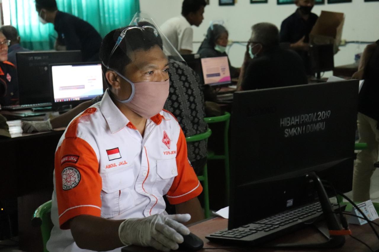 Ujian Negara Amatir Radio Non Reguler tahap 2 th2020 di Kabupaten Dompu NTB