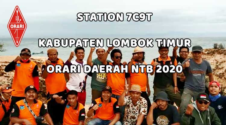 Preparation Station 7C9T di Kabupaten Lombok Timur