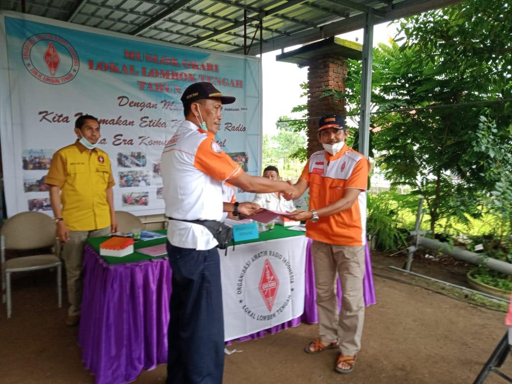 Musyawah Lokal Lombok Tengah Orari Daerah Nusa Tenggara Barat