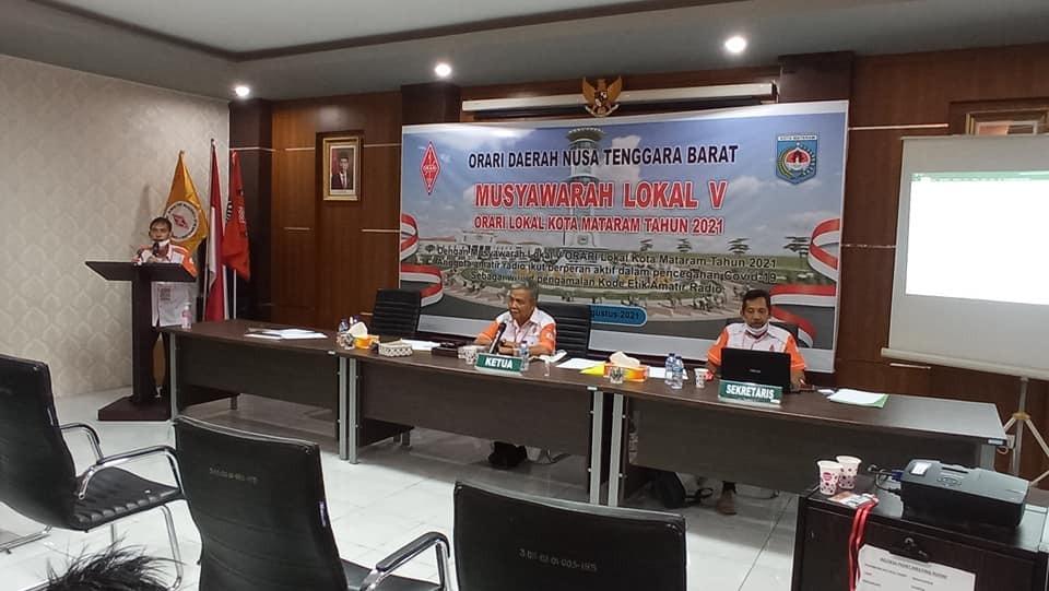 Musyawarah Lokal V ORARI Daerah NTB Lokal Kota Mataram